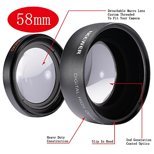 BestDealUK 58MM WideAngle Lens For CANON 350D 400D 450D 500D 1000D
