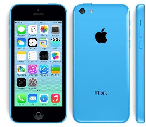 海外版SIMフリーApple iPhone5C 16GB Blue ブルー sim free シムフリー