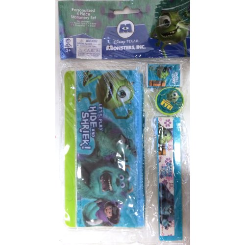 Monster University Personalized 4 Piece Stationery Set