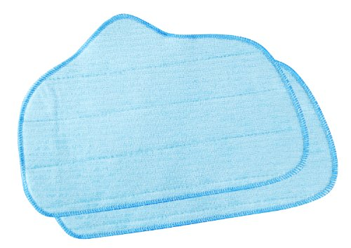 Steamfast Replacement Microfiber Mop Pad For Steamfast Sf-275/Sf-370 And Mcculloch Mc1275 (2-Pack)