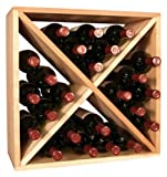24 Bottle Wine Storage Cube (Ponderosa Pine)