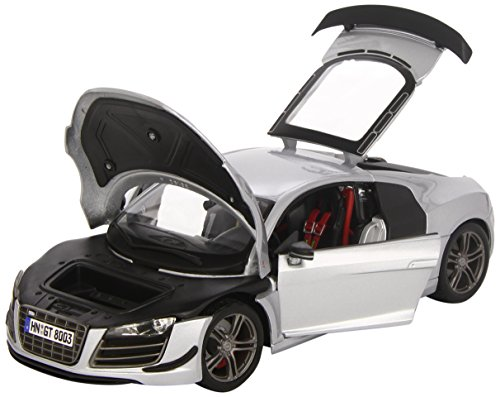 Maisto 1:18 Scale Audi R8 GT Diecast Vehicle (Colors May Vary), 36190