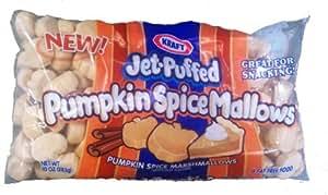 Kraft Jet Puffed Pumpkin Spice Marshmallows 10 Oz (Pack of 3)