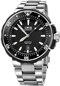 Oris ProDiver Date Mens Titanium Bracelet Automatic Watch 73376827154MB