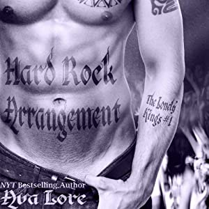Hard Rock Arrangement: The Lonely Kings, #1 (       UNABRIDGED) by Ava Lore Narrated by Crystal Sershen