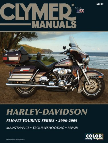 Harley-Davidson Flh/Flt Touring Series 2006-2009 (Clymer Manuals: Motorcycle Repair) front-636455
