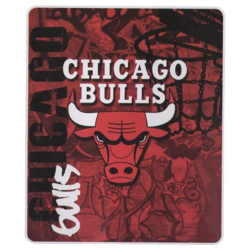 """Nba Lightweight Fleece Blanet (50"""" X 60"""") - Chicago Bulls front-501660"""