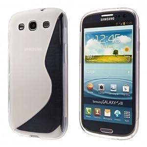 ECENCE Samsung Galaxy S3 i9300 S3 Neo i9301 Coque de protection housse case cover transparent 21040303