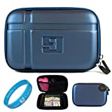 51dNFeBCpcL. SL160  Blue EVA Durable Protective GPS Carrying Case