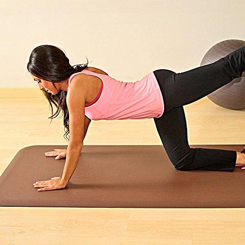4' Fitness Wellness Mat - Black
