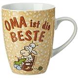 """Nici  28467 - Tasse Fancy Mugs """"Oma ist die Beste""""von """"Nici"""""""