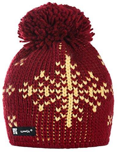 Unisex Winter Cappello invernale di lana Berretto Beanie hat Pera Jersey Sci Snowboard di moda (Eskimo 67)
