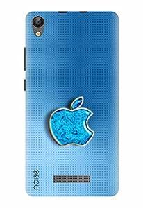 Noise Designer Printed Case / Cover for Lava P7+ / Patterns & Ethnic / Blue Apple