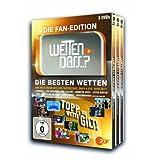"""Wetten Dass...?- Die Fan-Edition/Die besten Wetten [3 DVDs]von """"Thomas Gottschalk"""""""