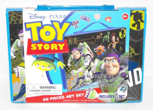 Toy Story Children's 68-Piece Art Set - 1