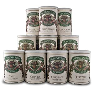 Van Drunen Farms Freeze-Dried Gourmet Herb Collection, 9Oz (255 Grams)