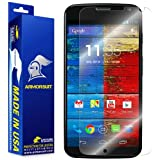 ArmorSuit MilitaryShield - Motorola Moto X Phone Screen Protector Shield Ultra Clear + Lifetime Replacements