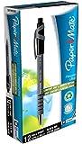 Paper Mate Flexgrip Ultra Retractable Ball Pen Medium Tip - Black (Pack of 12)
