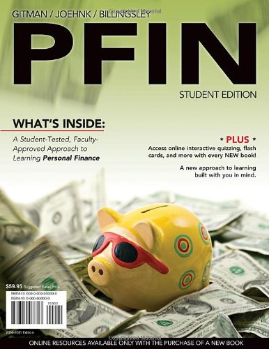 PFIN (with Review Cards and CourseMate Printed Access Card)