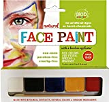 Glob Natural Face Paint Set - 5 Colors