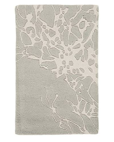 Surya Modern Classics Abstract Floral Hand-Tufted Rug, Gray, 5' x 8'