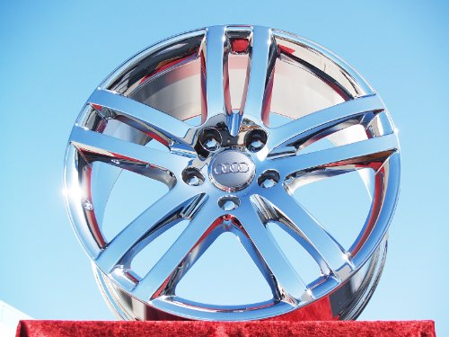 Audi Q7: Set of 4 genuine factory 20inch chrome