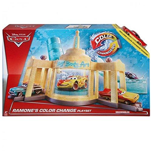 Mattel Disney PIXAR CKD12 Cars Ramones Farbwechsel Color Changers + Wasser Set