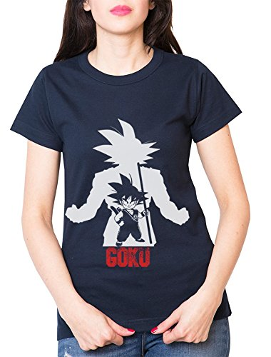 Over-Goku-Camiseta-de-mujer-Goku-Dragon-Master-Son-Ball-Vegeta-Turtle-Roshi-Db-Farbe2NavyGre2XS