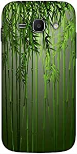 Snoogg bamboo Hard Back Case Cover Shield For Samsung Galaxy Ace 3