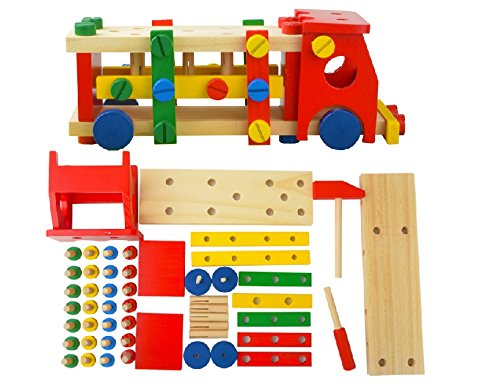 Thinkmax? Wooden Assembling Toy Car front-449105