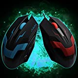 Professional Gaming Computer Mouse USB Wired Game Mice For Computer Peripherals Blue