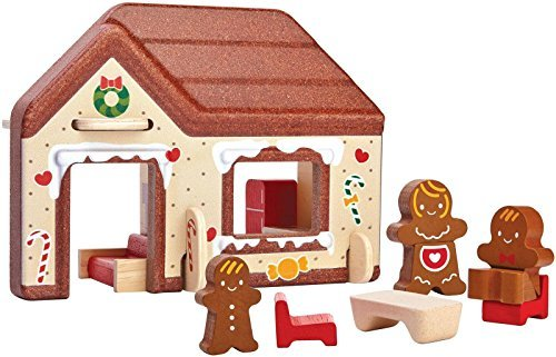 PlanToys 6623 Gingerbread House Playset