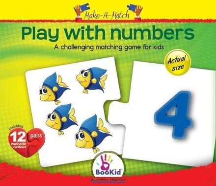 Make A Match Baby Puzzle Games - Play With Numbers. For 18+ Months Old