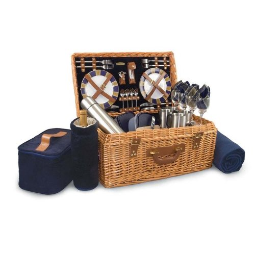 Learn More About Picnic Time Windsor Picnic Basket, Service for 4