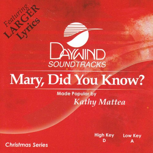 Kathy Mattea - Mary Did You Know? [accompaniment/performance Track] - Zortam Music