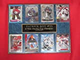 Patrick Roy Colorado Avalanche 8 Card Plaque at Amazon.com