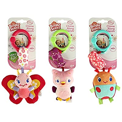 Bright Starts Chime Along Friends Take-Along Toys-Styles Will Vary Assortment of 3, Each Sold Separately by KidsII, Bright Starts that we recomend personally.