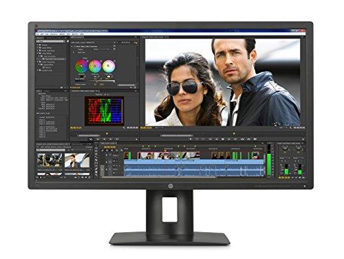"""Hp Z32X Dreamcolor Monitor Professionale 31.5"""" IPS con Retroilluminazione a LED, Nero"""
