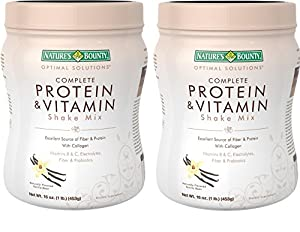 Nature's Bounty Protein Shake Mix, 16 Ounce