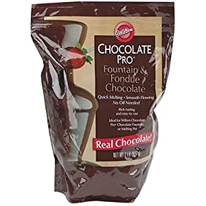 Wilton W2618 Chocolate Pro Fountain & Fondue Chocolate - Wafers 2 Pounds