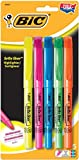 BIC Brite Liner, Assorted Colors, 5 Pack (BLP51W)