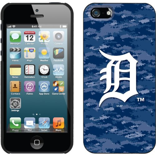 Great Sale Detroit Tigers - Digi Camo Color design on a Black iPhone 5s / 5 Thinshield Snap-On Case by Coveroo