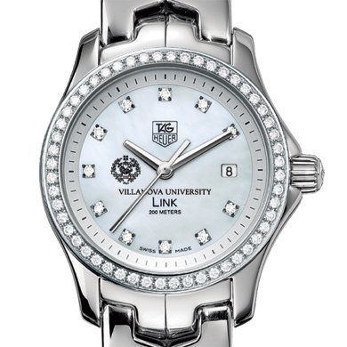 Villanova Women's TAG Heuer Link with Diamond Bezel