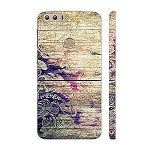 Enthopia Designer Hardshell Case Flowery Wood Back Cover for Huawei Honor 8