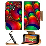 Pipes light element digital idea shape 3DMall Motorola Moto G Flip Case Stand Magnetic Cover Made to Order Pu Leather