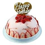 桜とベリーとタルトのアイスケーキ
