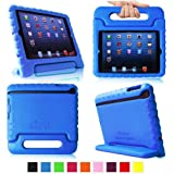 Fintie iPad mini 1/2/3 Kiddie Case - Light Weight Shock Proof Convertible Handle Stand Kids Friendly for Apple iPad mini 1 / iPad mini 2 / iPad mini 3, Blue