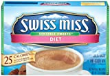 Swiss Miss Hot Cocoa Mix, Sensible Sweets, Diet, 8-Count Envelopes (Pack of 6)