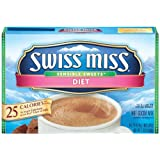 Swiss Miss Hot Cocoa Mix, Sensible Sweets, Diet, 8-Count Envelopes (Pack of 6) ~ Swiss Miss