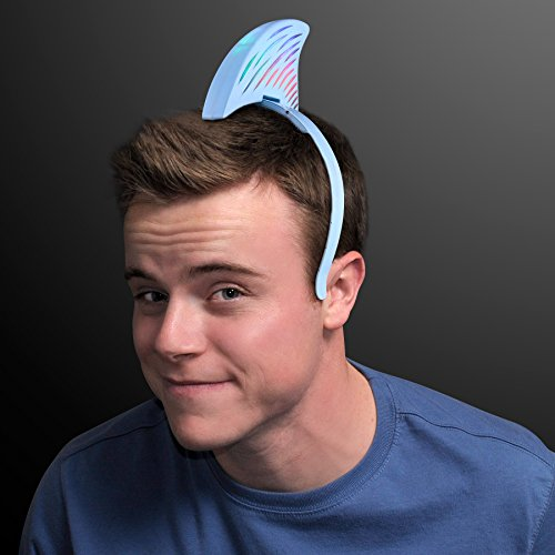 Light Up LED Shark Fin Headband